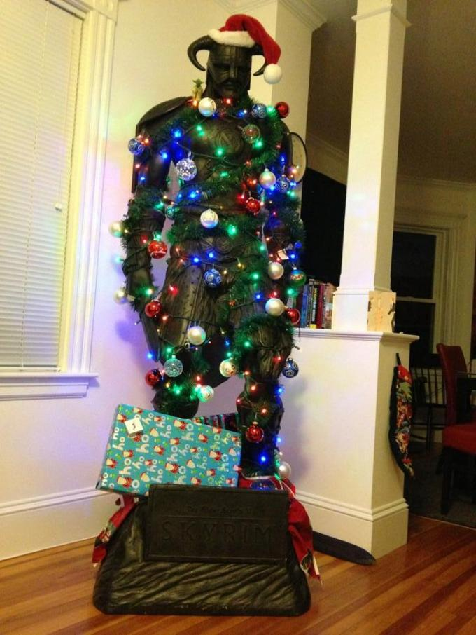 Dragonborn Christmas Tree