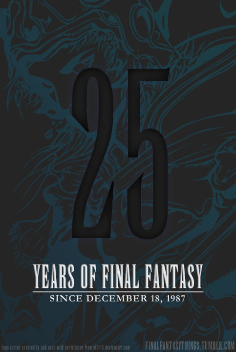 25 Years of Final Fantasy