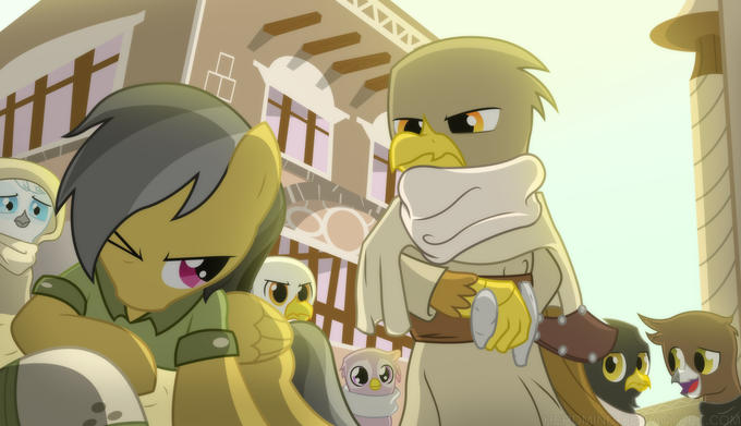 Daring Do And The Griffon's Goblet