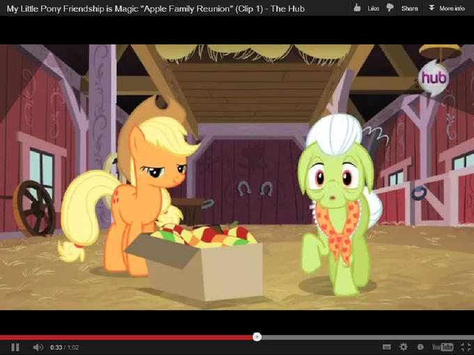 "My Little Pony Friendship is Magic ""Apple Family Reunion"" (Clip 1)"