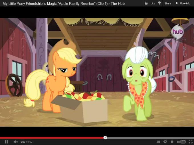 "My Little Pony Friendship is Magic ""Apple Family Reunion"" (Clip 1)"