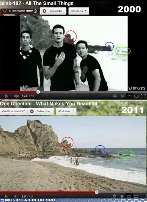 Blink 182 Mocks 1D BEFORE They Exist!