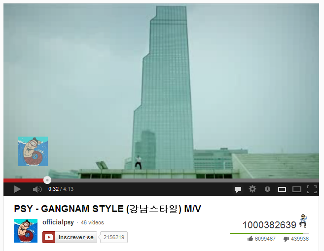 Over 1000000000 views