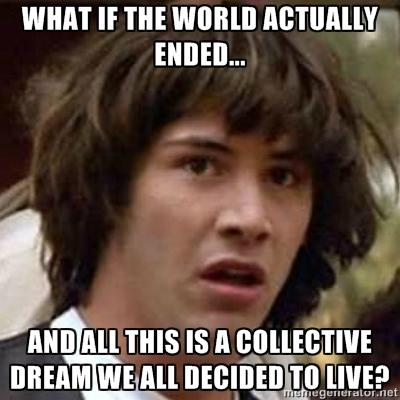 Conspiracy Keanu End of the world 2012