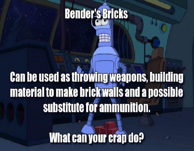 Bender's Bricks