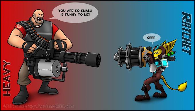 Minigun vs Ryno V