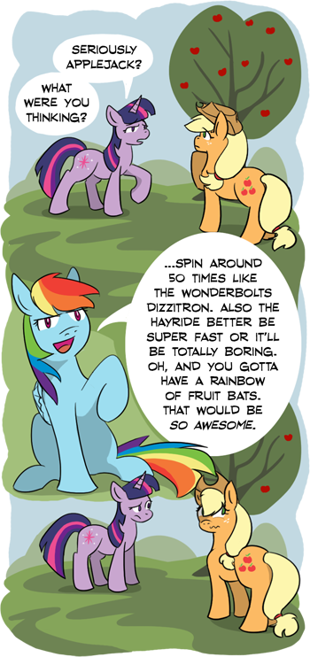 What were you thinking Applejack?
