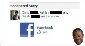 Liking Facebook on Facebook