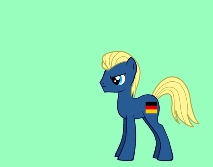 germany as a pony