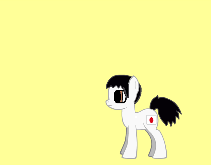 japen as a pony