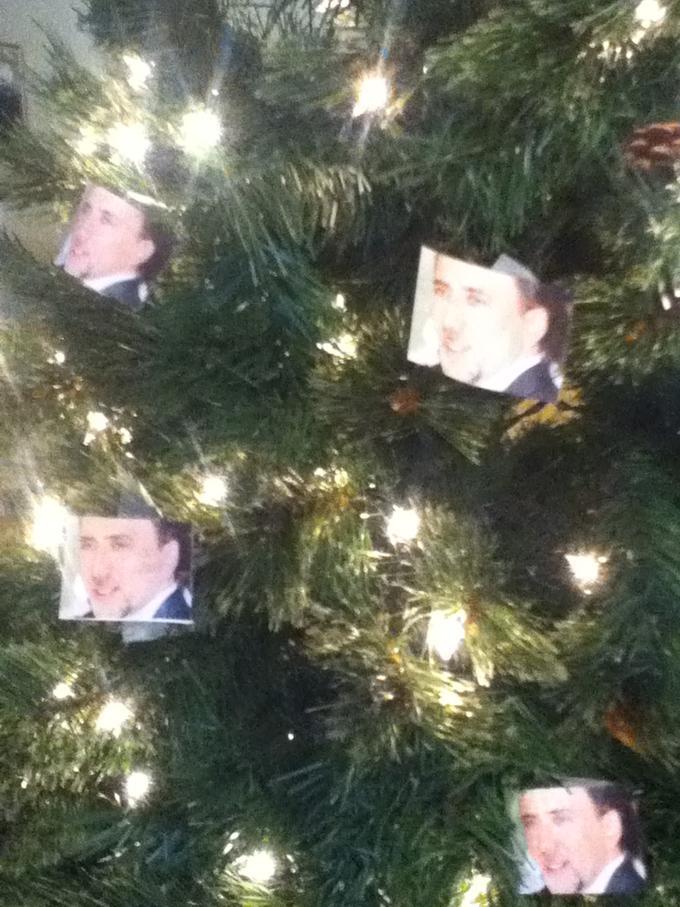 St. Nicolas Tree Ornaments
