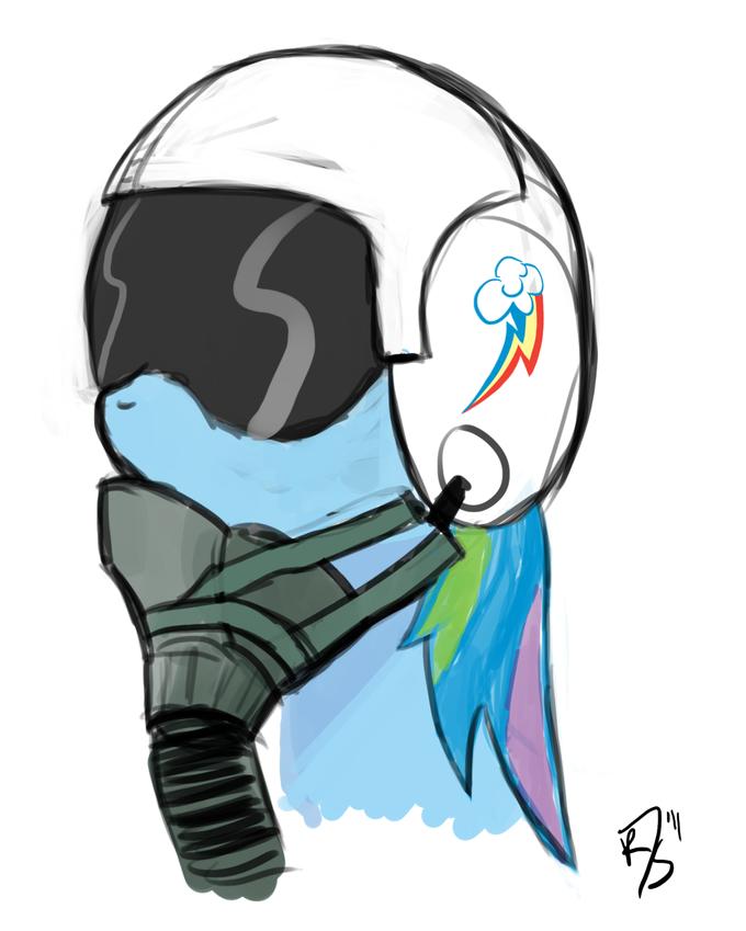 Rainbow Dash Pilot