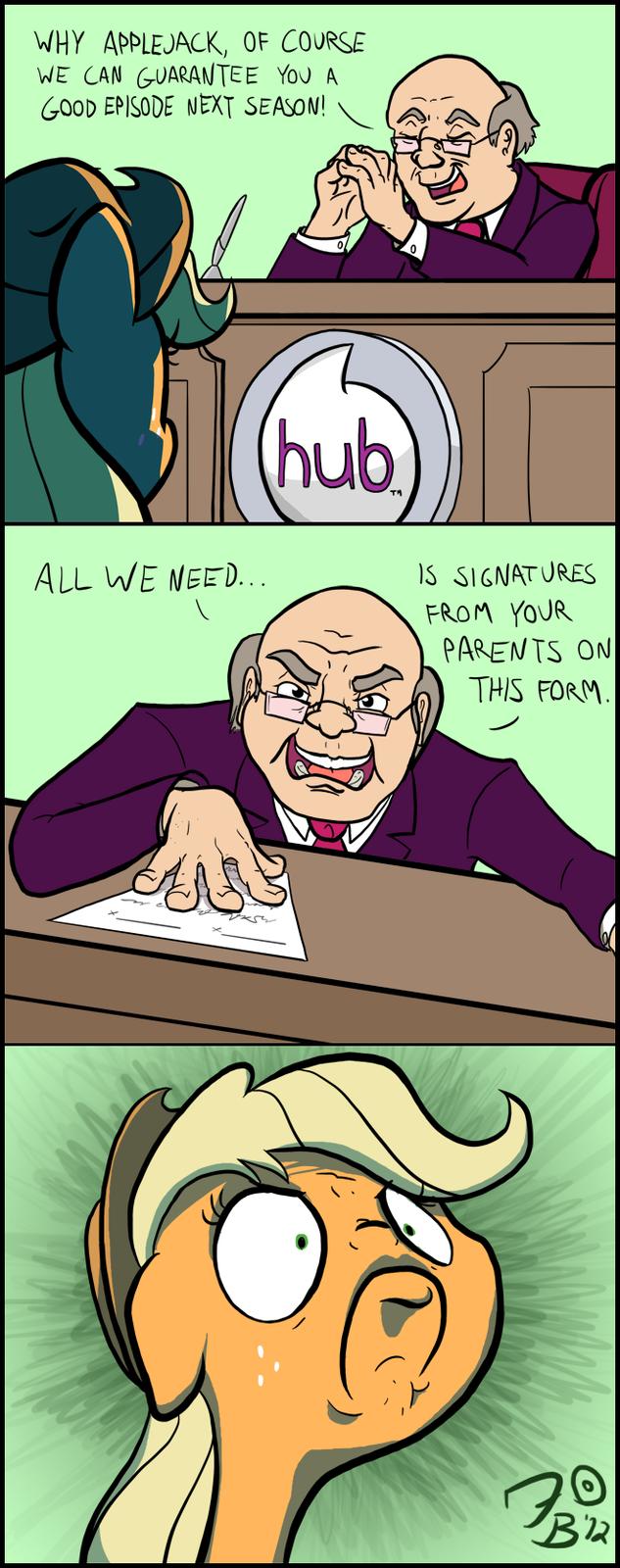 Applejack's Deal