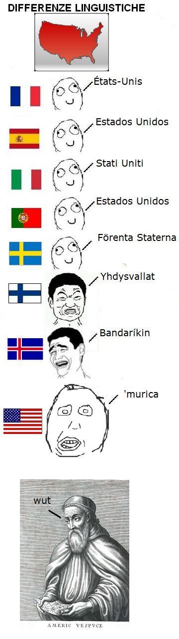 Differenze Linguistiche America