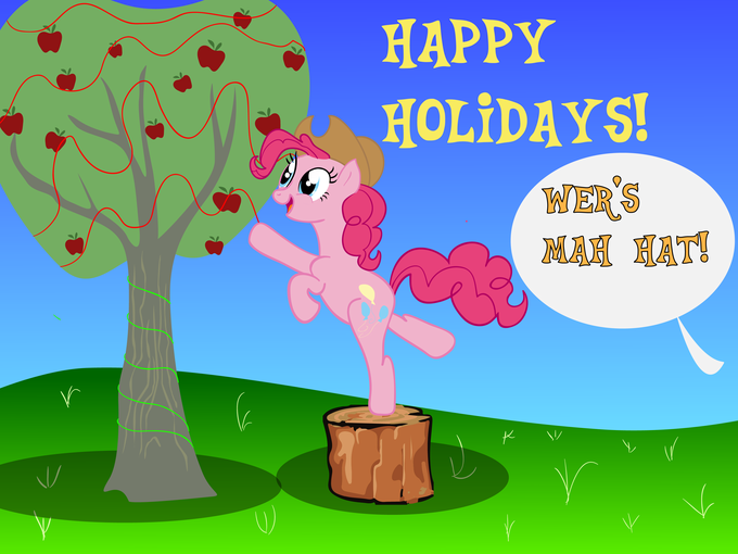 HAPPY HOLIDAYS FROM PINKIE