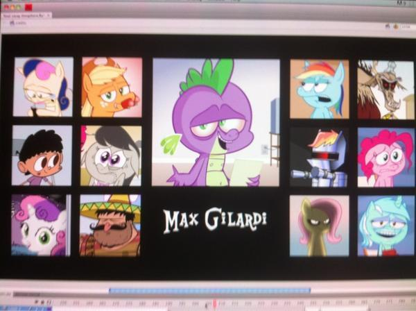 Characters voiced by Max in the Pony.mov series.