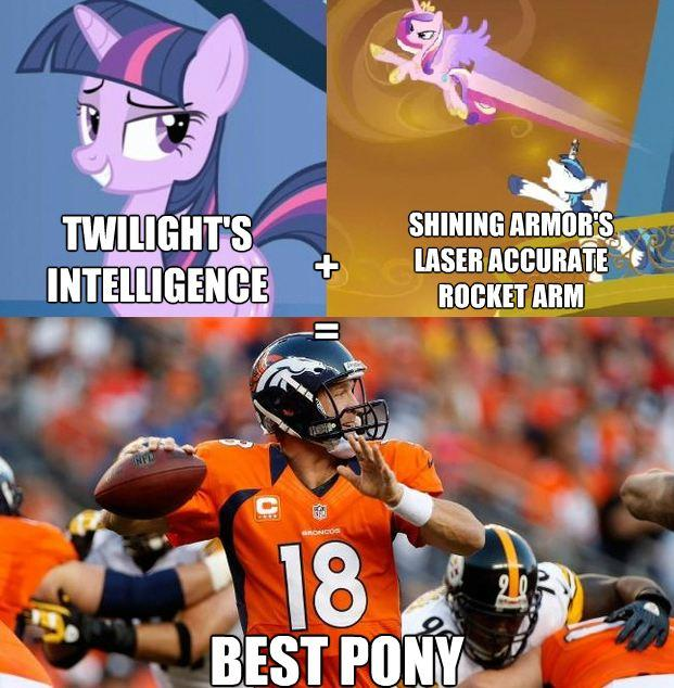 Peyton Manning is best pony