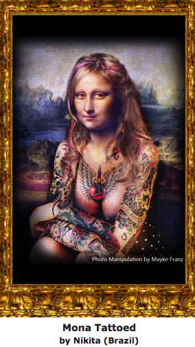 Mona Tattoed