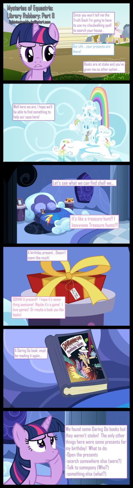 Mysteries of Equestria: Library Robbery: Part 8