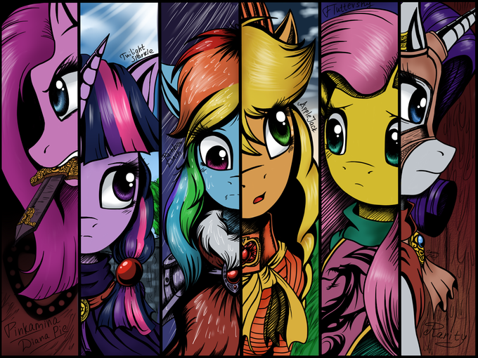 .: My little pony: Oblivion :.