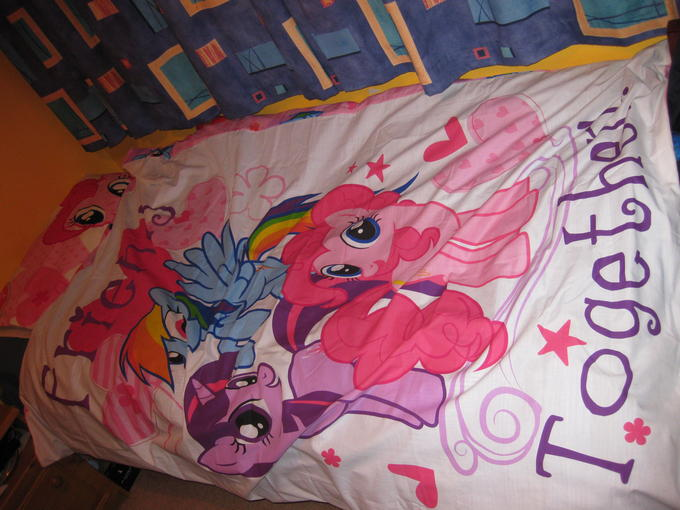 Check out my badass bed!