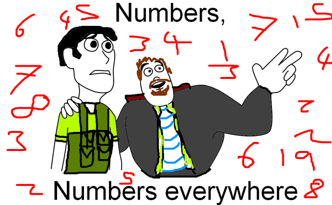 Numbers, Numbers everywhere