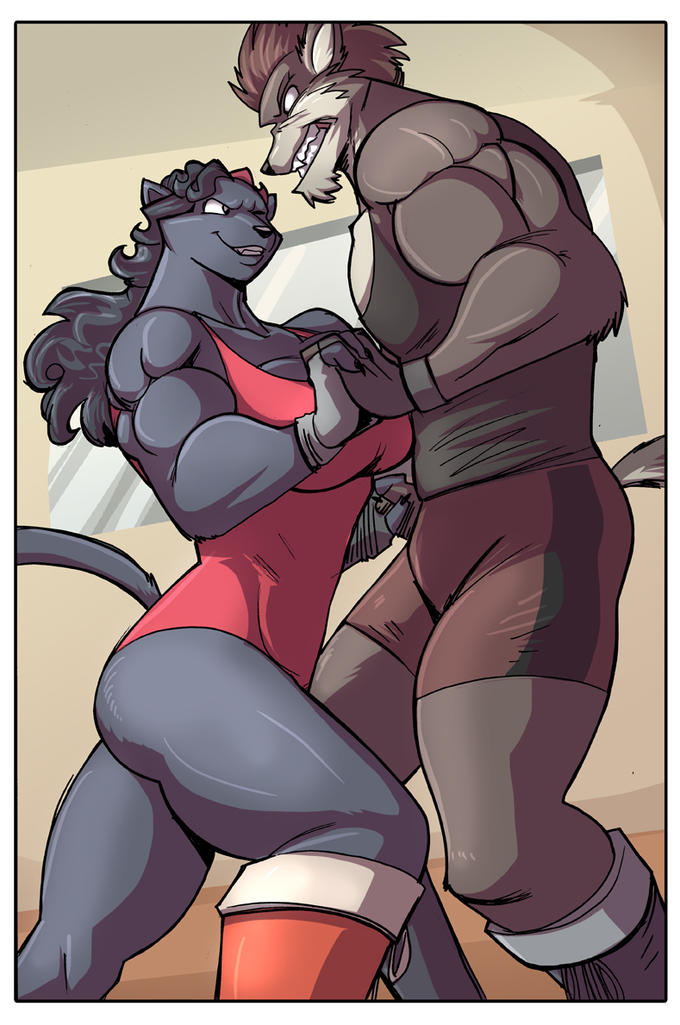 Furry Wrestling 4