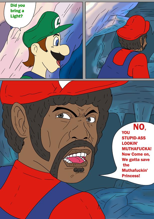 Samuel Jackson stars in Hotel Mario!
