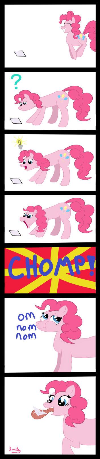 Pinkie Pie Makes Origami