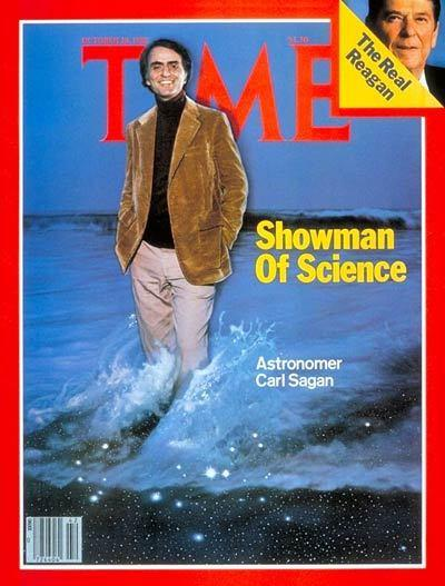 Carl Sagan on Time Magazine