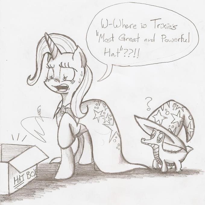 Trixie and her Most Unfortunate Dilemma