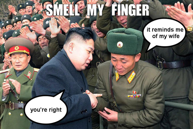 smell my finger