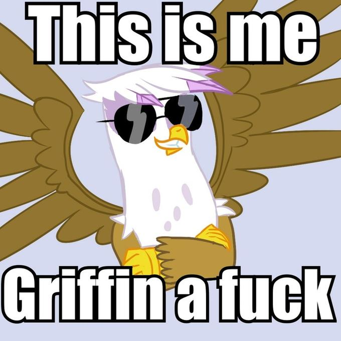 Griffin a fuck!