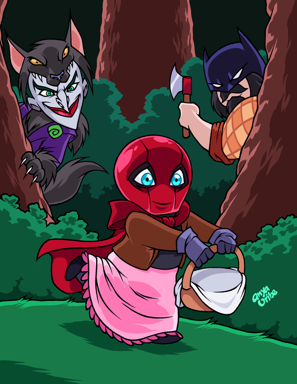 Little Riding RED HOOD