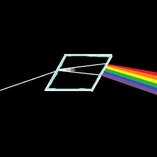 Dark Side of the Rhombus