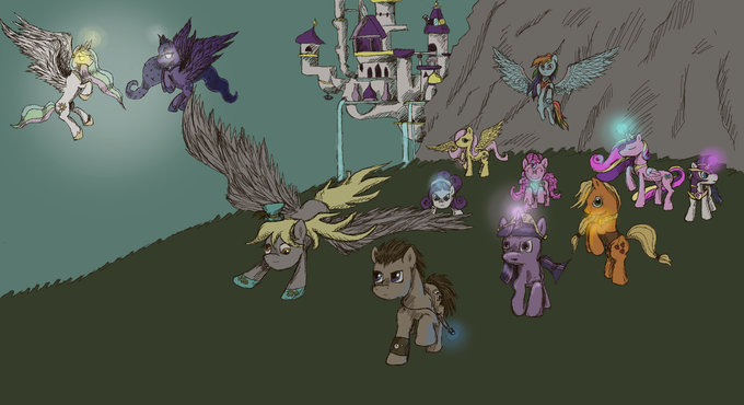 Call upon the heroes of Equestria