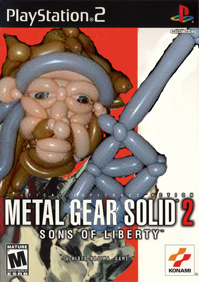 Metal Gear Solid 2 - Balloons of Liberty