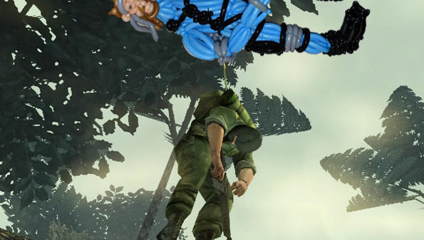 Balloon Gear Solid - new screenshot out