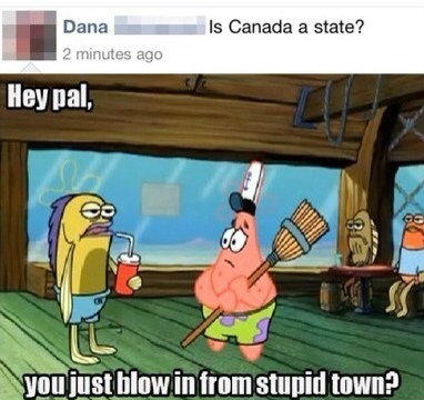 no,Dana Canada is not an state
