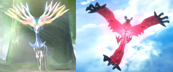 New legendary Pokemon for Pokemon X and Y