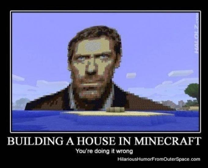 Minecraft memes 7 minecraft blog for Building a house blog