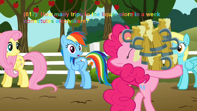 Rainbow Dash is concerned