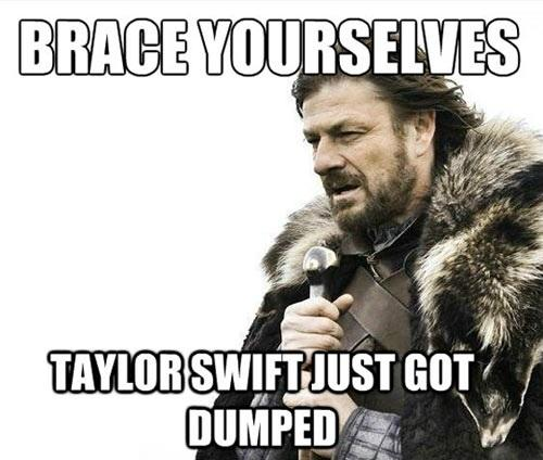 Taylor Swift Dumped