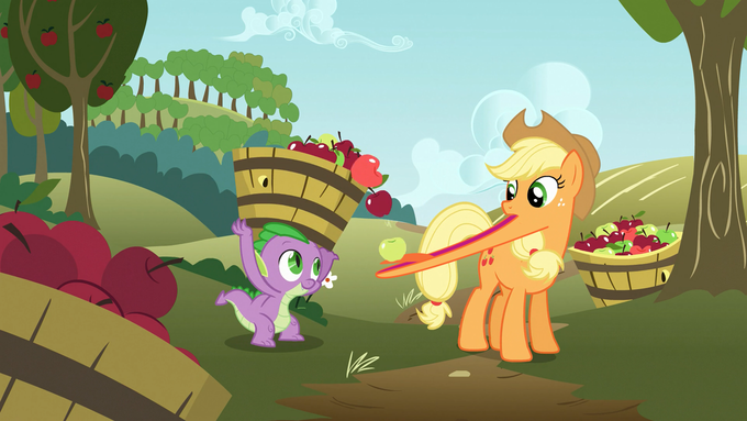 Applejack?  You can't eat all those apples...
