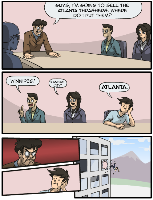 Meanwhile, in Atlanta Spirit LLC's boardroom...