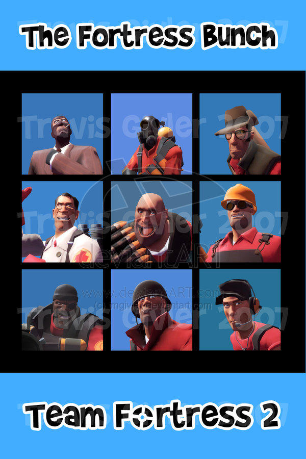 The Fortress Bunch - TF2