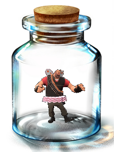 Heavy Fairy In A Bottle