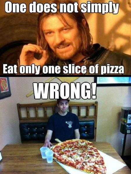Only One Slice