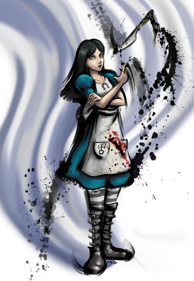 Alice Street Fighter 4 Art Style