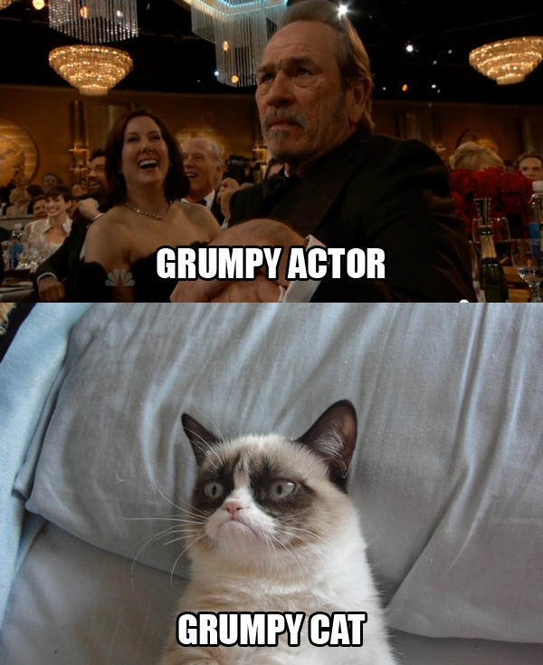 Grumpy Actor / Grumpy Cat